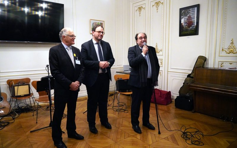 Francois Geraud avec B.Verrier et A Rousseau